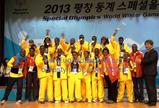 gold for uganda