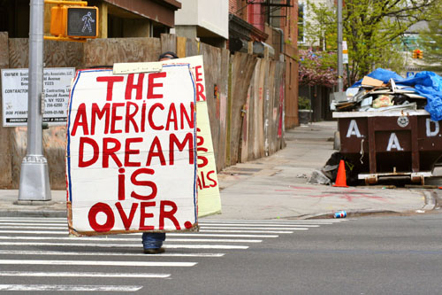 american-dream-is-over