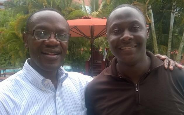 Mr. Ivan Lumala (in white shirt) Director - Senior Technology Officer Microsoft - 4Africa. Mr. Lumala will be among the 2014 Ugandan Diaspora award recipients. Save the date - 30th Dec 2014, Kampala Serena Hotel.