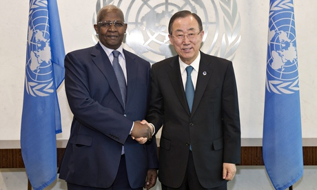 Secretary-Generalmeeting with H.E. Mr. Sam K. Kutesa, Minister for Foreign Affairs of Uganda.