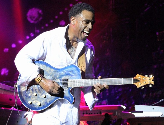 Grammy Award winner Norman Brown in action at the Nile Jazz Safari