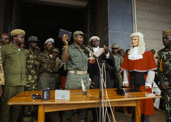 Inauguration of Yoweri Museveni