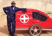 Christopher-Ategeka-Ambulance-cart-RidesForLives