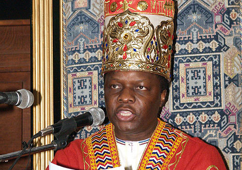 king Mutebi