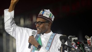 President Elect Muhammadu Buhari -- the 72-year-old Buhari built an early lead in northern states - AP