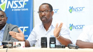 Managing Director National Social Security Fund - NSSF, Mr. Richard Byarugaba