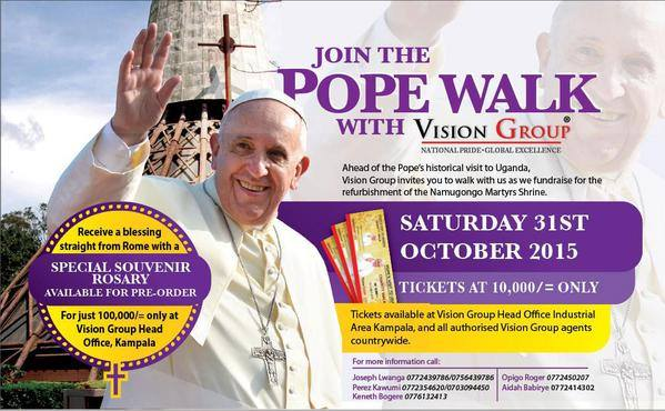papal fundraiser