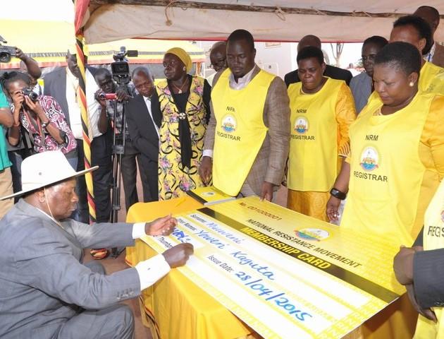 mini-NRM chaos