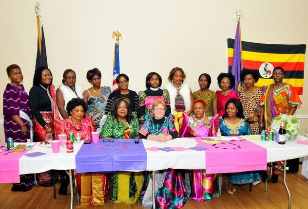 The Uganda Women's Association International (UWAI) celebrating Womens Day with the Mayor of Waltham, Massachusetts. The city with the largest concentration of Ugandans in North America.  Photo courtesy of AD Studios.