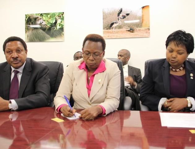 Tanzania, Uganda and Rwanda Ambassadors.