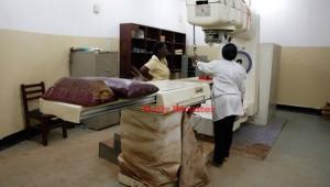 A radiotherapy machine at Mulago hospital. Photo by Rachel Mabala