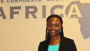 Elsa Juko-McDowell, Chairwoman of the East Africa Chamber of Commerce.