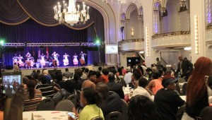 Ugandans gather in Boston at one of their annual Conventions held at the Park Street hotel