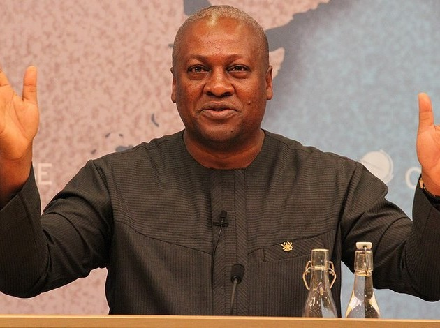 His Excellency President John D. Mahama— former President of Ghana