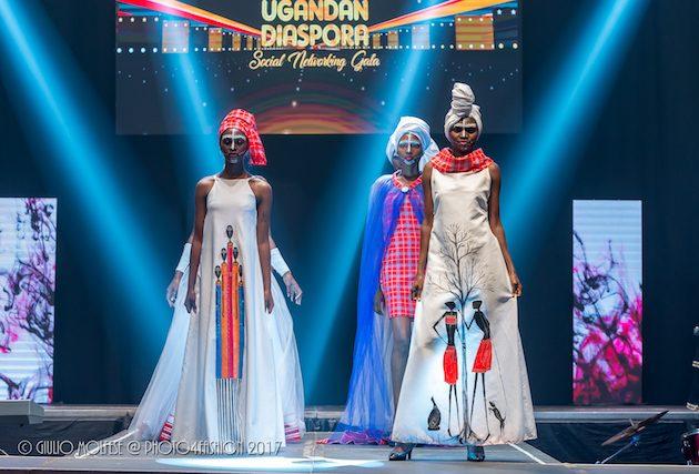 Diaspora Gala 2017 Fashion Designer Stella Atal Flying Uganda S Flag Higher Welcome To The Ugandan Diaspora News Online